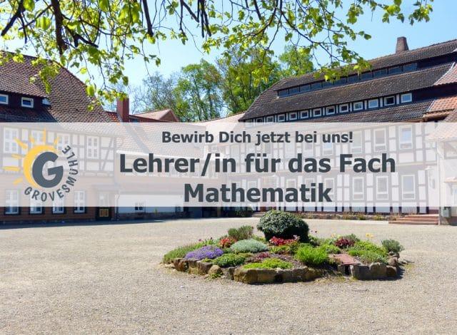 Stellenausschreibung Lehrer (m/w) Mathematik