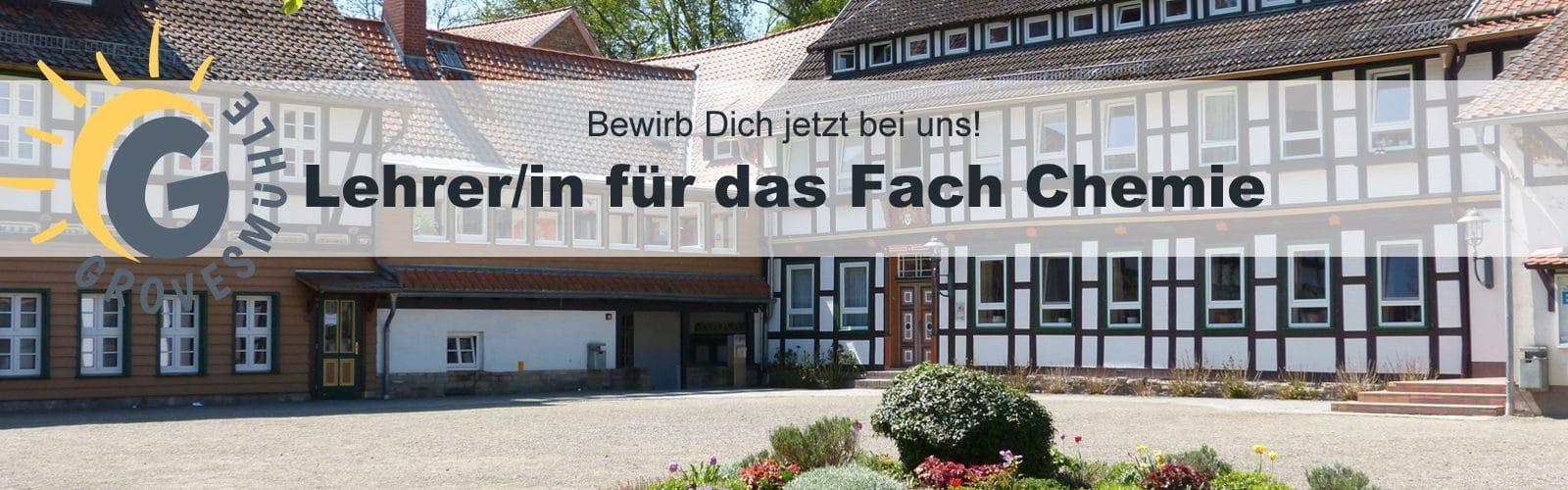 Landschulheim Grovesmühle sucht Lehrer für das Fach Chemie (m/w)